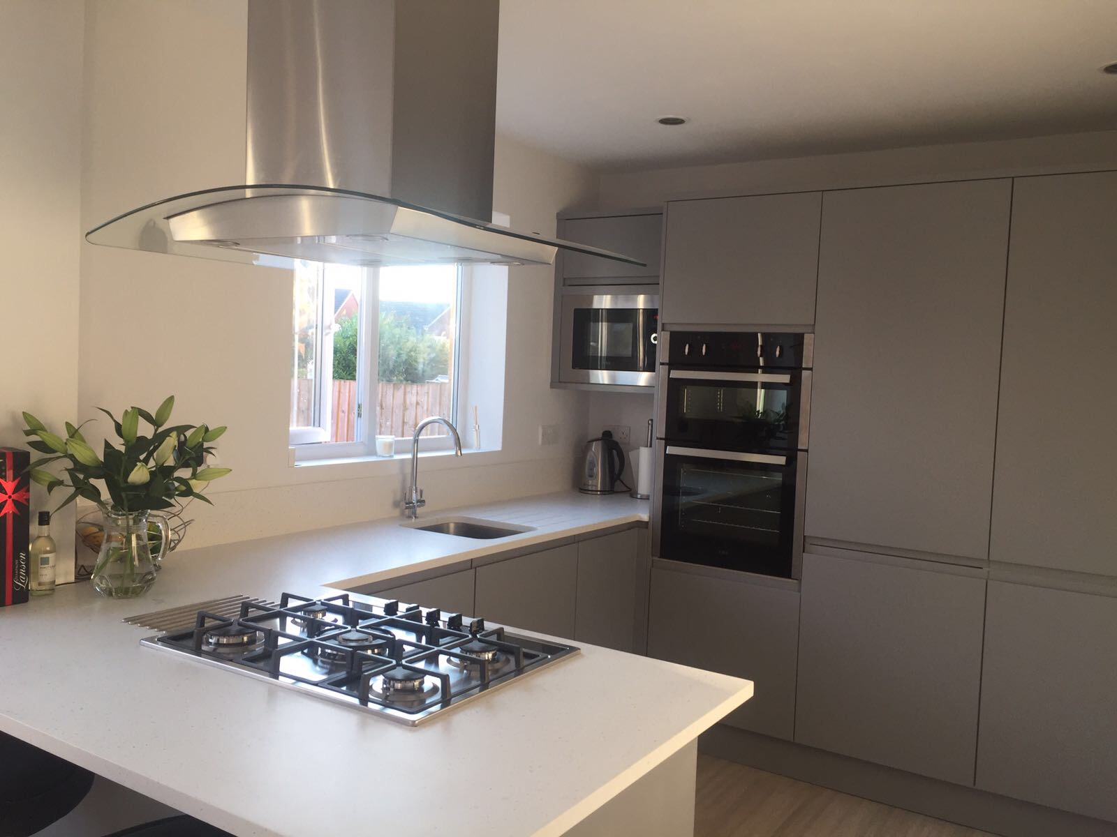 Image of vision kitchens bathrooms home improvements for Mr L in Glasgow