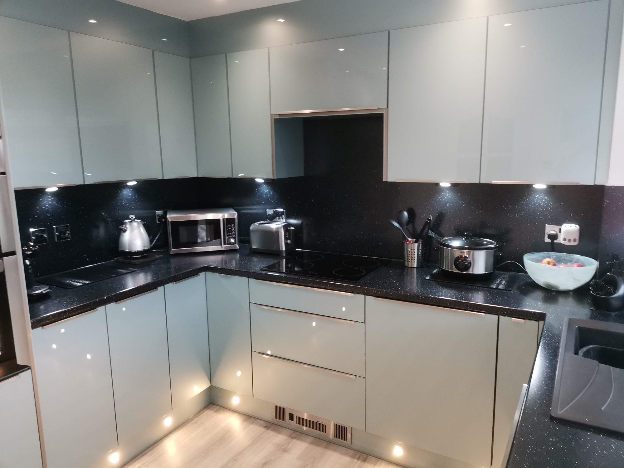 Image of vision kitchens bathrooms home improvements for Mrs P in Falkirk