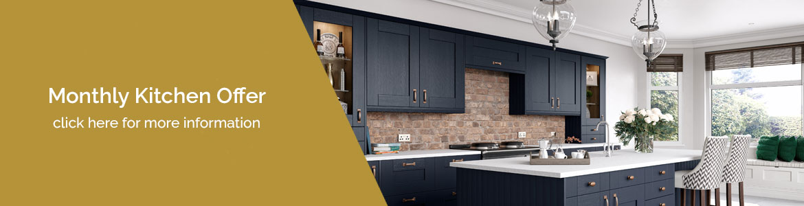 Vision Kitchens and Bathrooms monthly kitchen offer